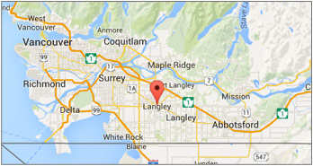 Langley Canada Map Contact Us | City of Langley