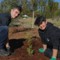 Earth Day native planting & invasive species removal Brydon Lagoon