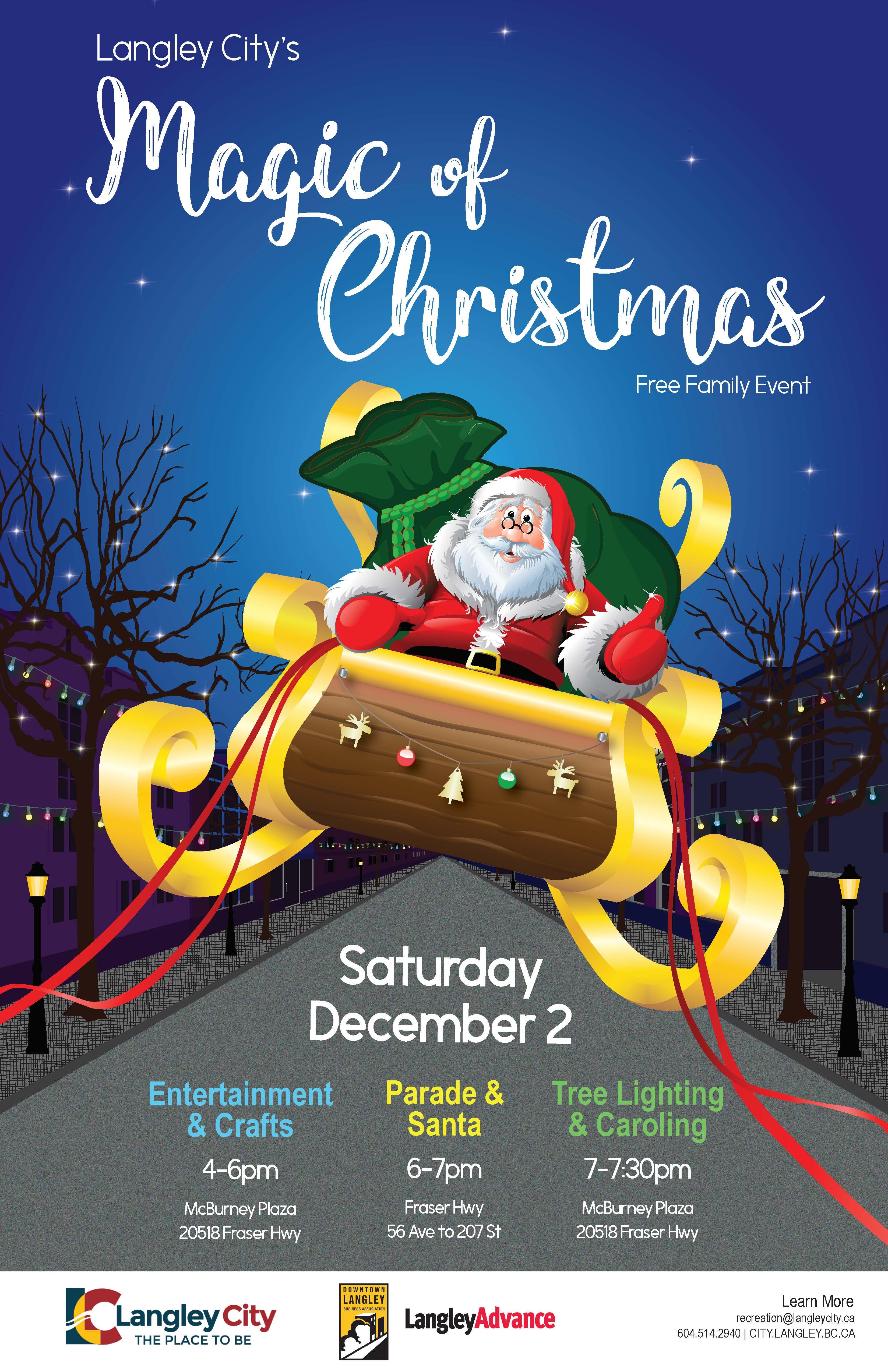Magic Of Christmas.Magic Of Christmas City Of Langley